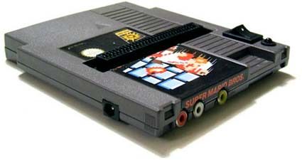 modding: nes in einer nes-kassette