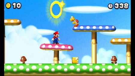 screens: new super mario bros 2