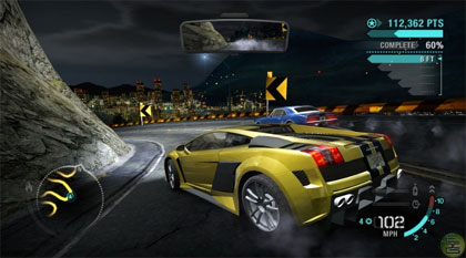 need for speed carbon: screenshots