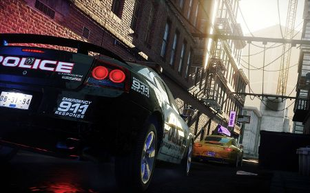 screenshots: need for speed: most wanted