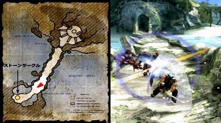 ninja gaiden dragon sword: kampfszene