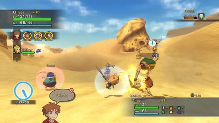 screenshots (II): ni no kuni