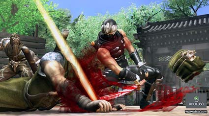 screenies: ninja gaiden 2