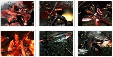 screenshots (III): ninja gaiden 3