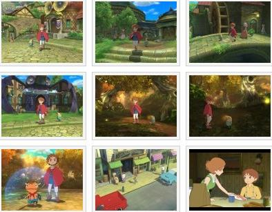 screens: ninokuni