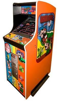 nintendo: 80er-arcade-kiste
