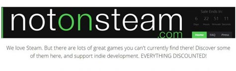 notonsteam: indie games!!