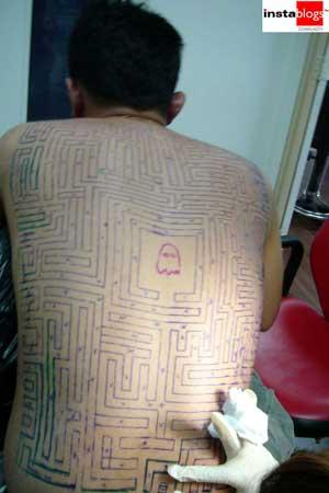 pacman-tattoo