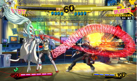 screens: persona 4: arena