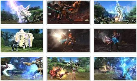 screenshots (III): phantasy star online 2