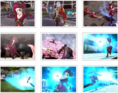 screens: phantasy star portable 2 infinity