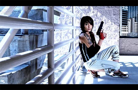 photoshoot: mirrors edge