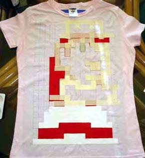 workshop: pixelart-tshirts