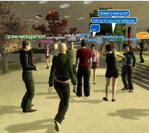 playstation home screenshot