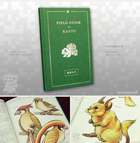 artbook: pokemon field guide