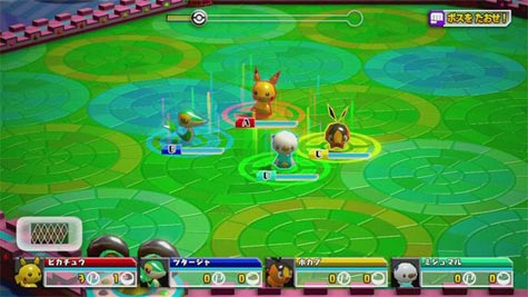 screenshots: pokemon rumble u