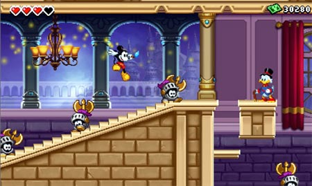 screens: epic mickey: the power of illusion