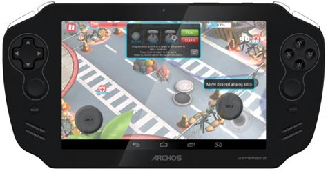 preview: archos gamepad 2