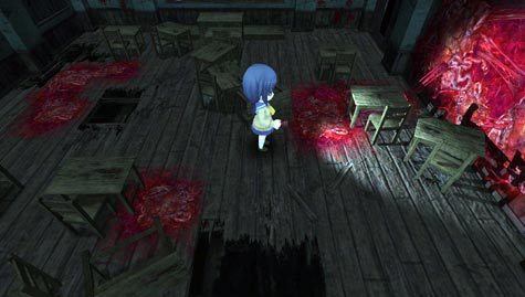 preview: corpse party: blood drive