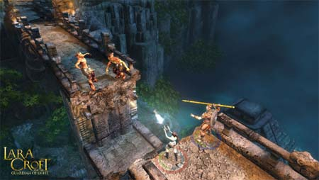 preview: lara croft guardian of light