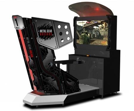 preview: metal gear arcade