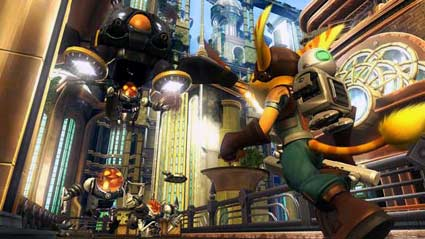 preview: ratchet+clank - tools of destruction