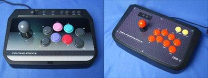 ps3: arcade joypads