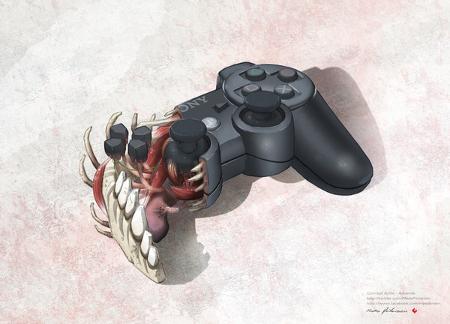 ps3 controller innereien