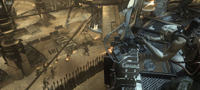 ps3: resistance screenshot