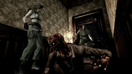 screens: resident evil chronicles hd