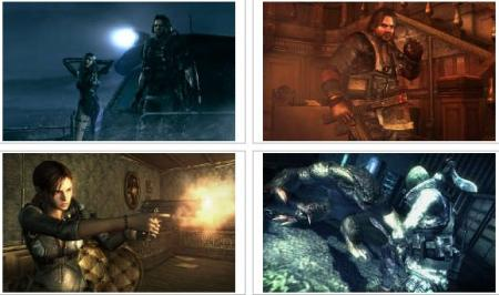 screens: resident evil revelations