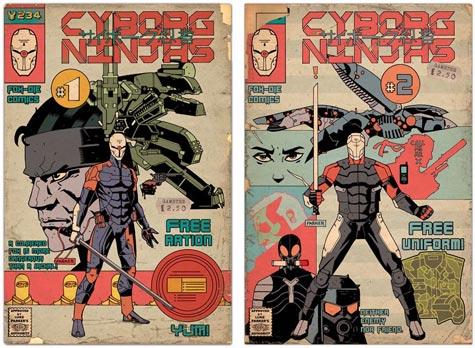 artwork: cyborg-ninja-comics