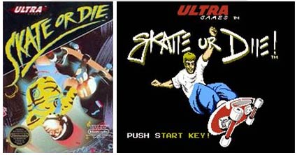 retro: skate or die