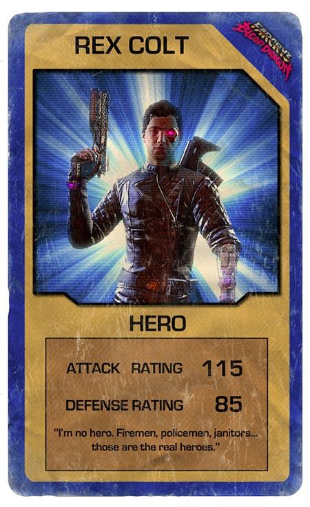 rex power colt als spielkarte