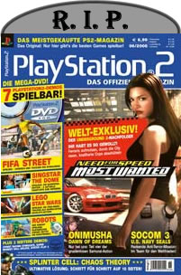 r.i.p. official playstation magazine