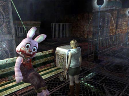 robbie the bunny aus silent hill 3