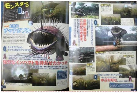 scans (II): monster hunter 3