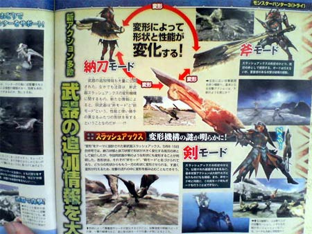 scans: monster hunter 3