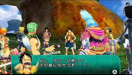 screenshots (II): one piece – unlimited cruise