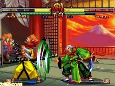 screenshots: samurai showdown anthology