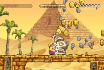 screen: wario land shake