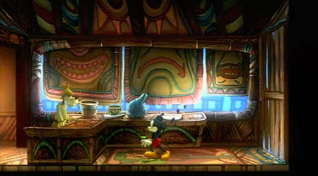 screens: epic mickey