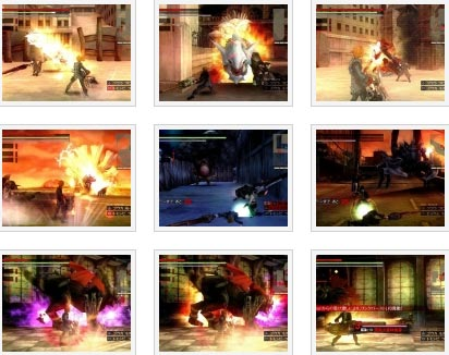 screenshots (II): god eater