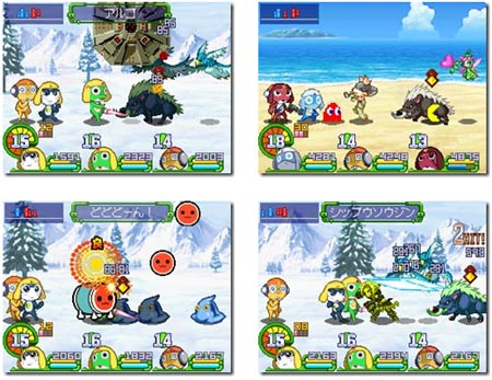 screens: keroro rpg