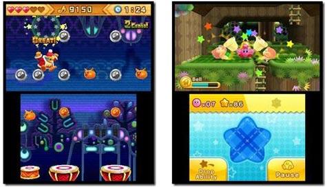 screens: kirby triple deluxe
