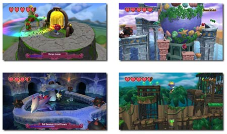 screenshots: klonoa