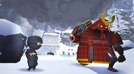 screenshots: mini ninjas