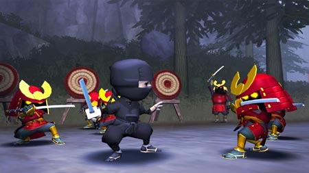 screens: mini ninjas