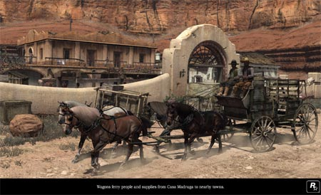 screens: red dead redemption
