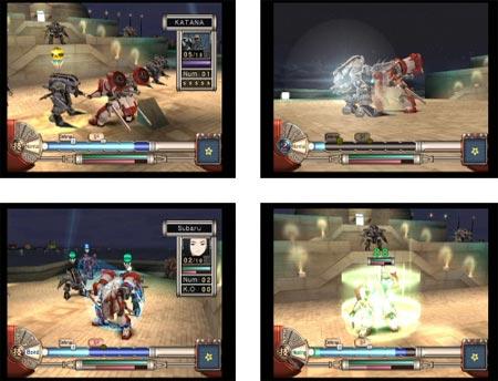screens: sakura wars